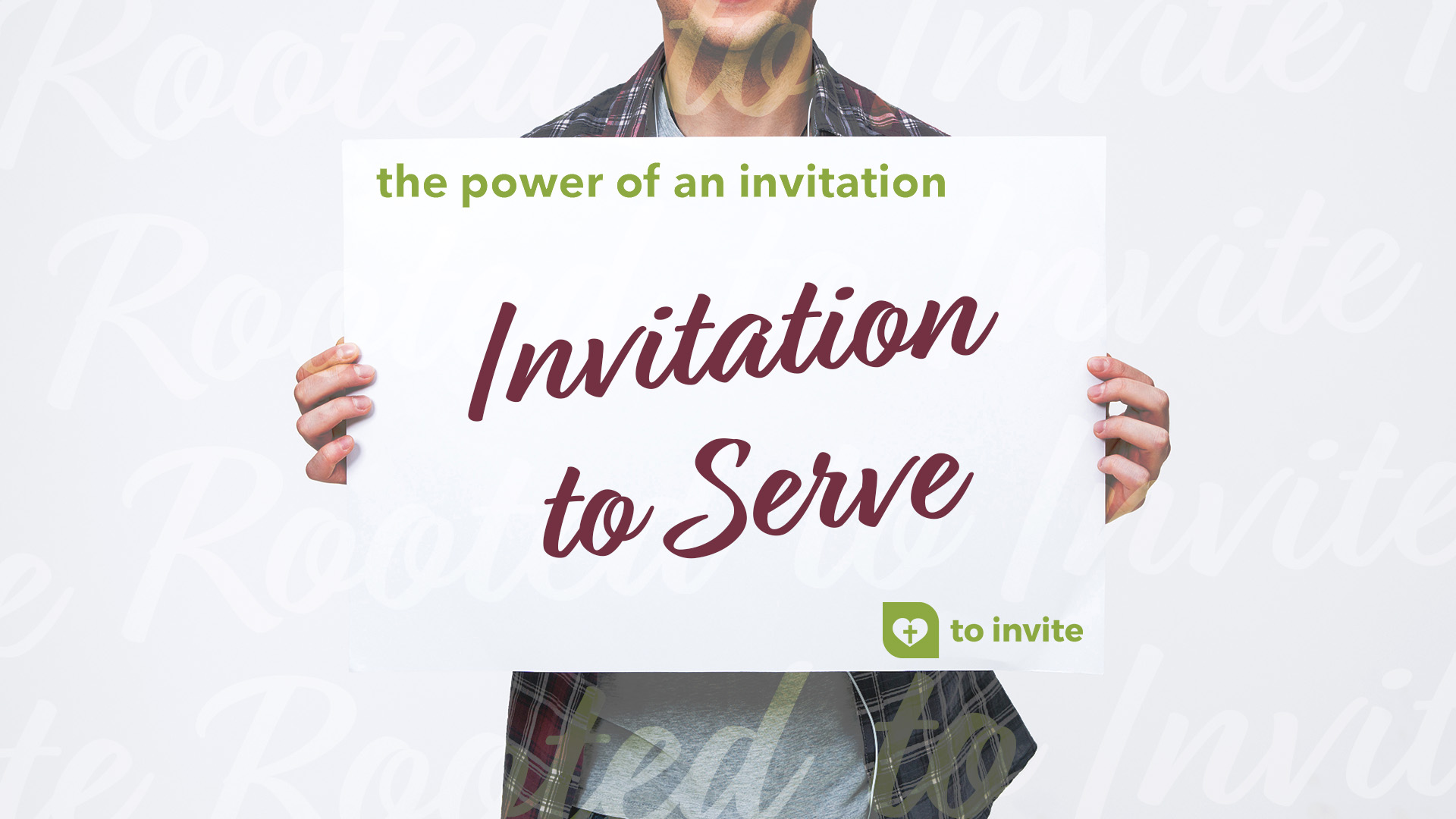 Invitation to Serve