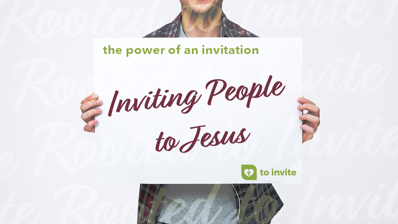 Inviting People to Jesus